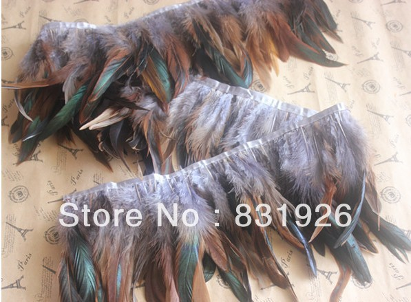 25 Yards Gray 6-7inch wide Couque feather trim for Skirt Dress AAA quality for Carnival showgirl customes
