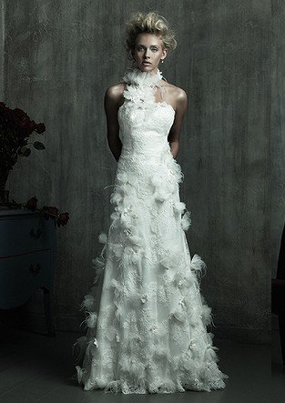 Sterrling 39 s blog i didn 39t realize this when i ordered for White feather wedding dress